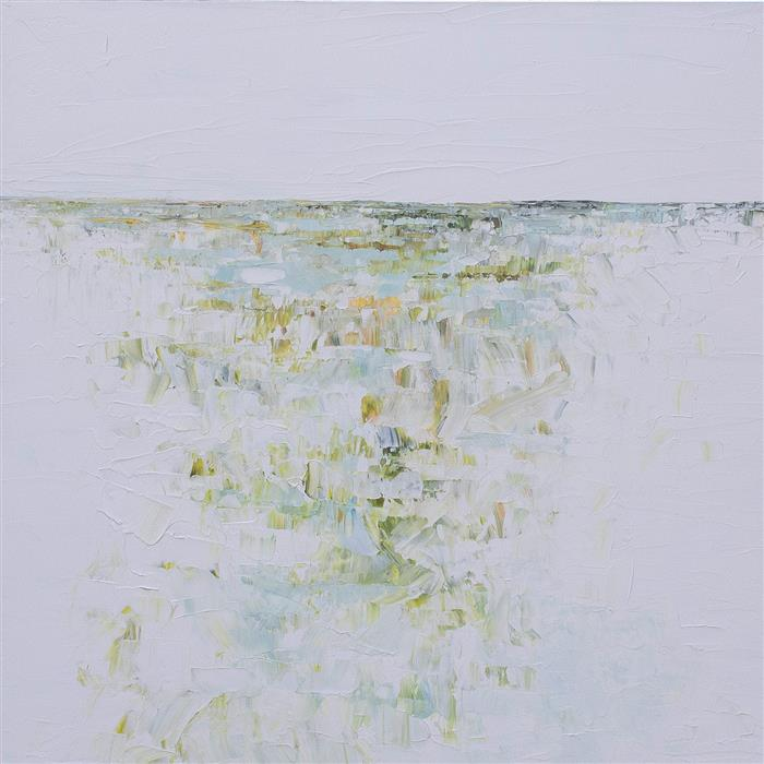 Original art for sale at UGallery.com | Marshland by Ruth LaGue | $3,800 | acrylic painting | 36' h x 36' w | ..\art\acrylic-painting-Marshland-64916