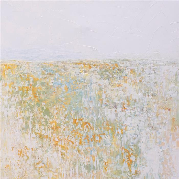 Original art for sale at UGallery.com | Spring in the Marsh by Ruth LaGue | $3,800 | acrylic painting | 36' h x 36' w | ..\art\acrylic-painting-Spring-in-the-Marsh