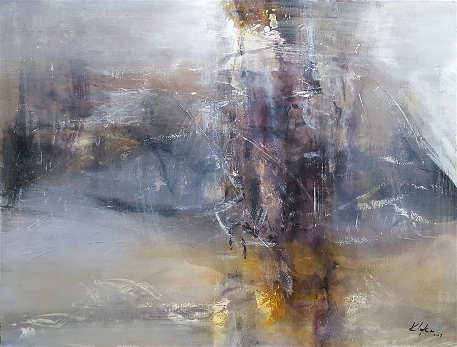 Original art for sale at UGallery.com | Bridge to Healing by Kloska Ovidiu | $1,100 | acrylic painting | 24' h x 32' w | ..\art\acrylic-painting-Bridge-to-Healing-Fascinating-Mindscape