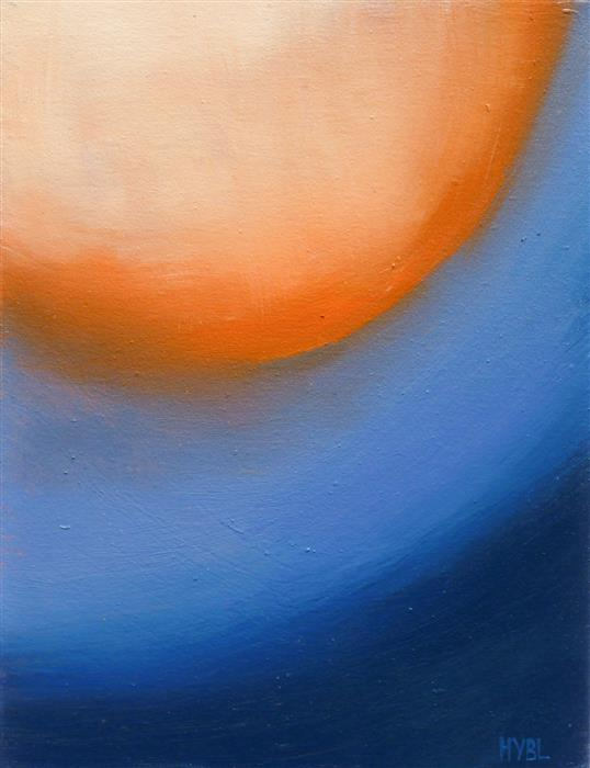 Original art for sale at UGallery.com | Sun Fragment by Heidi Hybl | $450 | oil painting | 16' h x 12' w | ..\art\oil-painting-Sun-Fragment