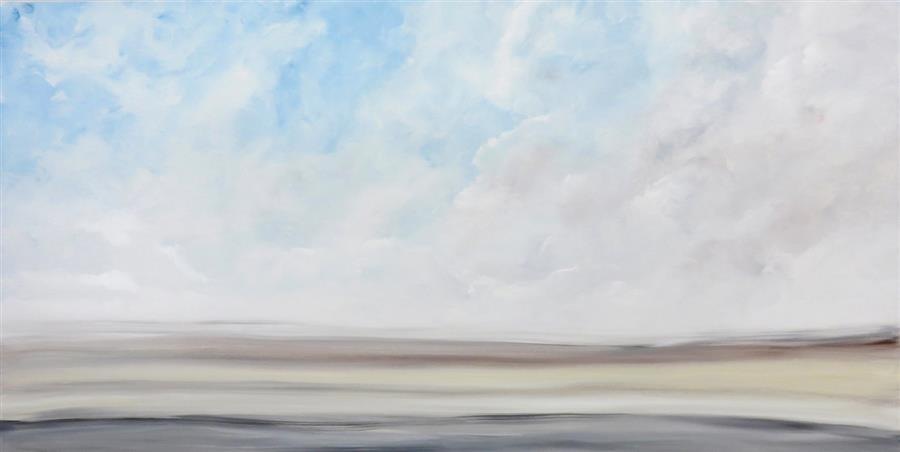 Original art for sale at UGallery.com | From Sea to Sky I by Jenn Williamson | $3,300 | acrylic painting | 30' h x 60' w | ..\art\acrylic-painting-From-Sea-to-Sky-I