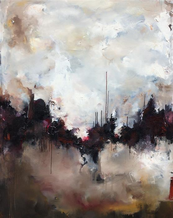 Original art for sale at UGallery.com | Frontier by Nicholas Kriefall | $5,000 | oil painting | 60' h x 48' w | ..\art\oil-painting-Frontier