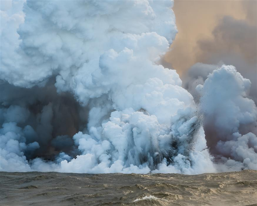Original art for sale at UGallery.com   Submerged Lava Bomb by William Dickman   $25   photography   20' h x 16' w   ..\art\photography-Submerged-Lava-Bomb