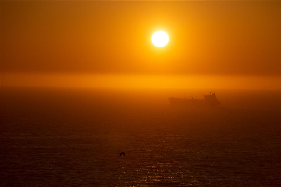 Original art for sale at UGallery.com | Pacific Sunset after Turner by Mathew Lodge | $25 | photography | 15' h x 10' w | ..\art\photography-Pacific-Sunset-after-Turner