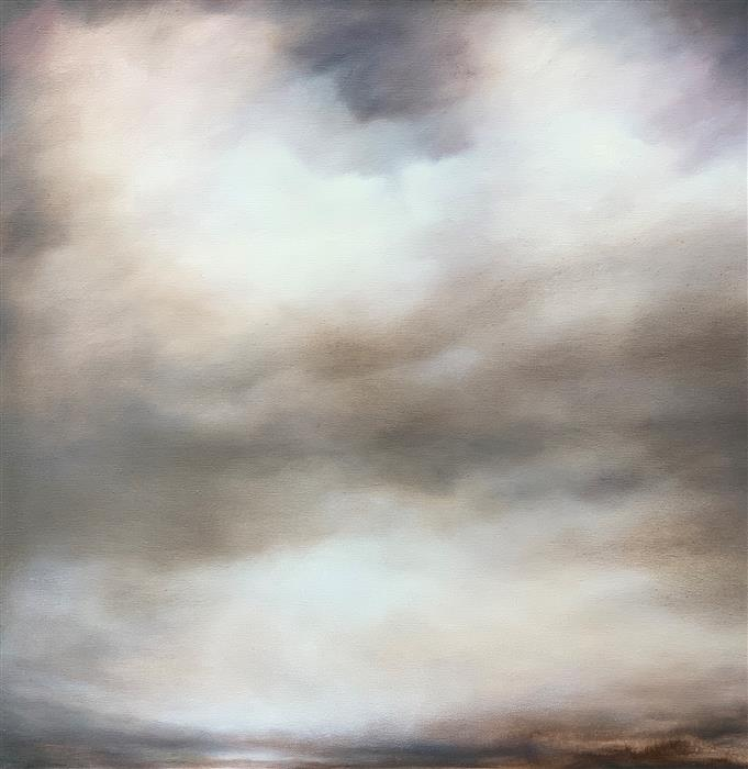 Original art for sale at UGallery.com | Moonlit Wanderings by Kelly Money | $800 | oil painting | 24' h x 24' w | ..\art\oil-painting-Moonlit-Wanderings