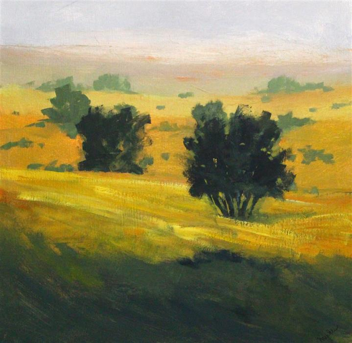 Original art for sale at UGallery.com | Prairie Dawn by Nancy Merkle | $725 | acrylic painting | 20' h x 20' w | ..\art\acrylic-painting-Prairie-Dawn