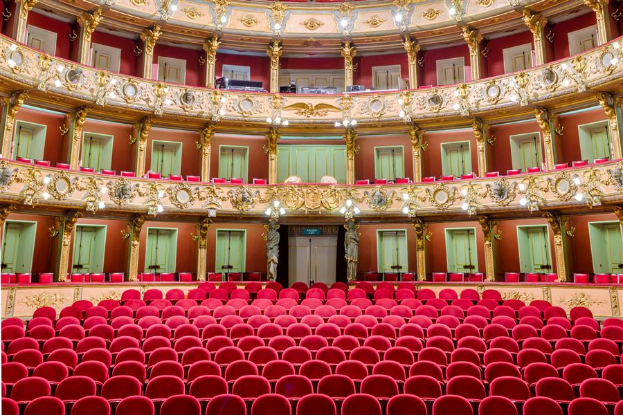 Original art for sale at UGallery.com | Teatro Colon, Bogota by Richard Silver | $25 | photography | 24' h x 16' w | ..\art\photography-Teatro-Colon-Bogota