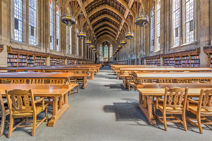 Original art for sale at UGallery.com | Suzzallo Library, University of Washington by Richard Silver | $25 | photography | 24' h x 16' w | ..\art\photography-Suzzallo-Library-University-of-Washington