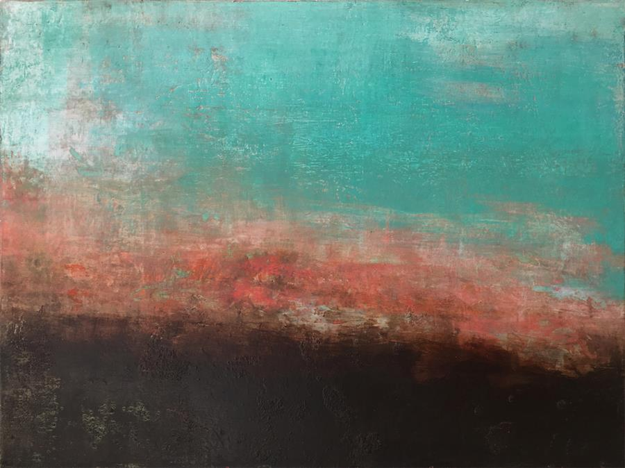 Original art for sale at UGallery.com | Loose Interpretation by Agata Kijanka | $825 | mixed media artwork | 18' h x 24' w | ..\art\mixed-media-artwork-Loose-Interpretation