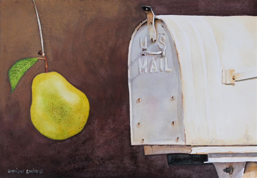 Original art for sale at UGallery.com | Farm to Table by Dwight Smith | $325 | watercolor painting | 7' h x 10' w | ..\art\watercolor-painting-Farm-to-Table