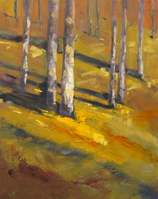 Original art for sale at UGallery.com | Fall Afternoon by Nancy Merkle | $650 | oil painting | 20' h x 16' w | ..\art\oil-painting-Fall-Afternoon
