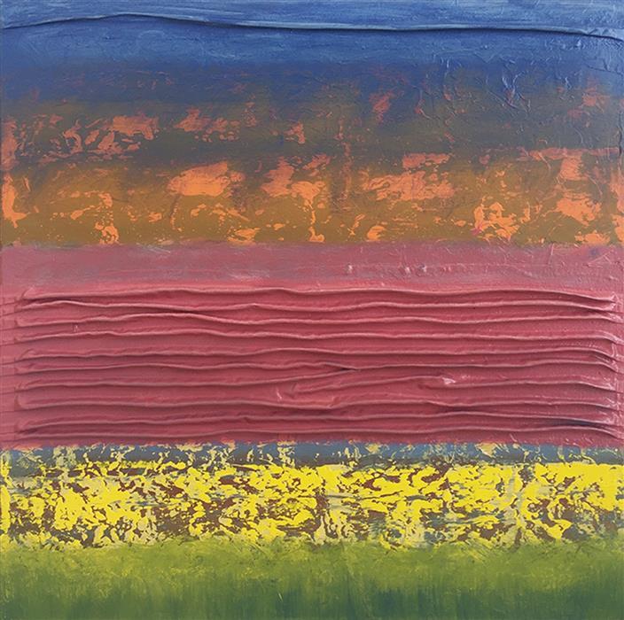Original art for sale at UGallery.com | Adagio XXXVI by David Carter | $1,650 | oil painting | 24' h x 24' w | ..\art\oil-painting-Adagio-XXXVI