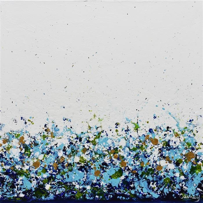 Original art for sale at UGallery.com | Potpourri 16 by Lisa Carney | $625 | acrylic painting | 16' h x 16' w | ..\art\acrylic-painting-Potpourri-16