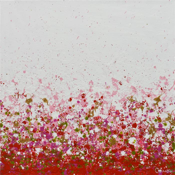 Original art for sale at UGallery.com | Potpourri 18 by Lisa Carney | $625 | acrylic painting | 16' h x 16' w | ..\art\acrylic-painting-Potpourri-18