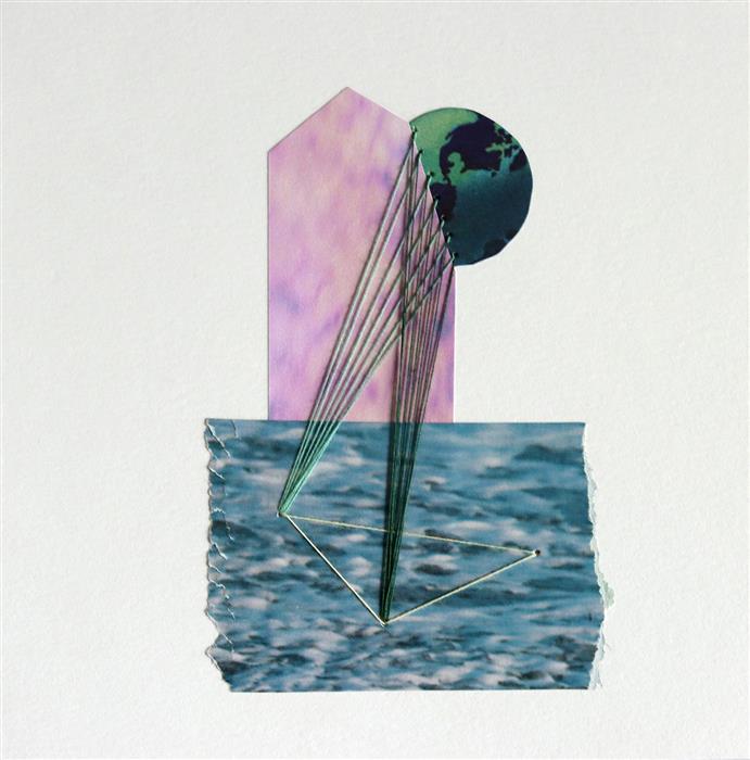 Original art for sale at UGallery.com | Bermuda by John Gardner | $375 | mixed media artwork | 10' h x 10' w | ..\art\mixed-media-artwork-Bermuda