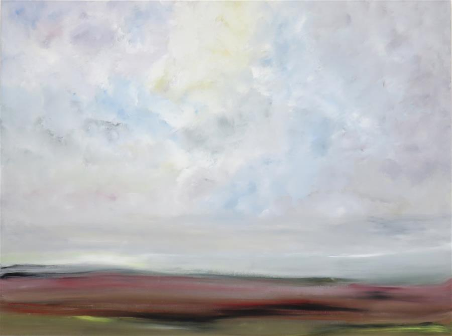 Original art for sale at UGallery.com | A Time of Serenity by Jenn Williamson | $1,975 | acrylic painting | 30' h x 40' w | ..\art\acrylic-painting-A-Time-of-Serenity