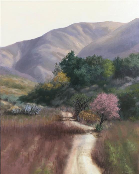 Original art for sale at UGallery.com | The Path by Elizabeth Rickert | $1,700 | oil painting | 31' h x 25.2' w | ..\art\oil-painting-The-Path-67626