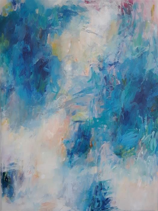 Original art for sale at UGallery.com | What a Difference a Day Makes, I by Hilma Koelman | $3,050 | acrylic painting | 48' h x 36' w | ..\art\acrylic-painting-What-a-Difference-a-Day-Makes-I