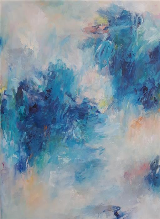 Original art for sale at UGallery.com | What a Difference a Day Makes, II by Hilma Koelman | $3,050 | acrylic painting | 48' h x 36' w | ..\art\acrylic-painting-What-a-Difference-a-Day-Makes-II