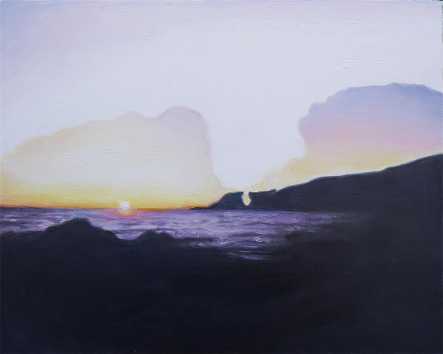 Original art for sale at UGallery.com | Quiet Weather II by Kristen Brown | $425 | oil painting | 8' h x 10' w | ..\art\oil-painting-Quiet-Weather-II