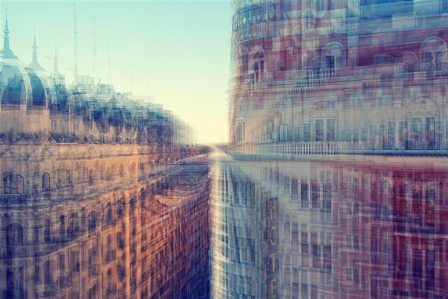 Original art for sale at UGallery.com | Fragmented Refractions by Ilya Khuroshvili | $150 | photography | 15' h x 10' w | ..\art\photography-Fragmented-Refractions