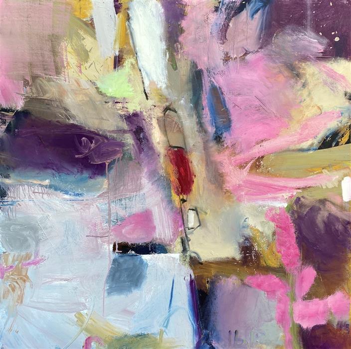 Original art for sale at UGallery.com | Ensor by Scott Hunter | $2,800 | oil painting | 36' h x 36' w | ..\art\oil-painting-Ensor
