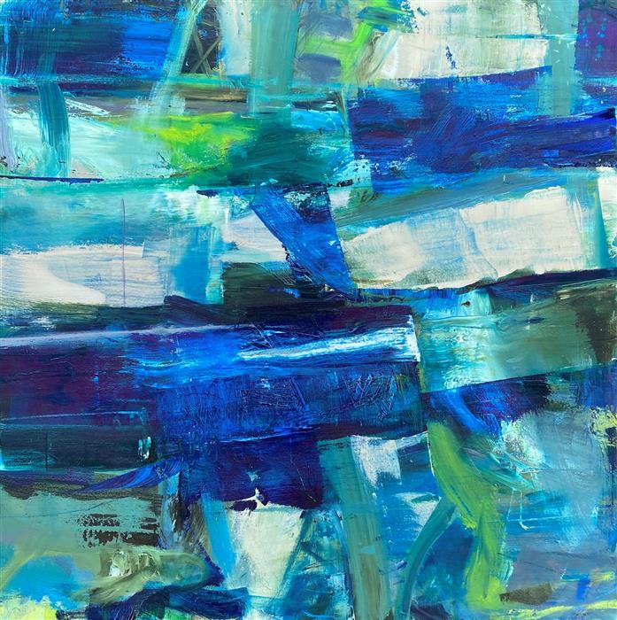 Original art for sale at UGallery.com | Highgrove by Scott Hunter | $3,500 | oil painting | 36' h x 36' w | ..\art\oil-painting-Highgrove