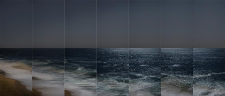 Original art for sale at UGallery.com | La Luna, Moonrise 1 by Martha Ketterer | $25 | photography | 36' h x 17' w | ..\art\photography-La-Luna-Moonrise-1