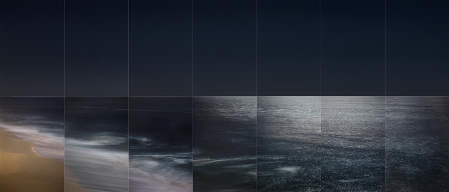 Original art for sale at UGallery.com | La Luna, Moonrise 2 by Martha Ketterer | $25 | photography | 36' h x 17' w | ..\art\photography-La-Luna-Moonrise-2