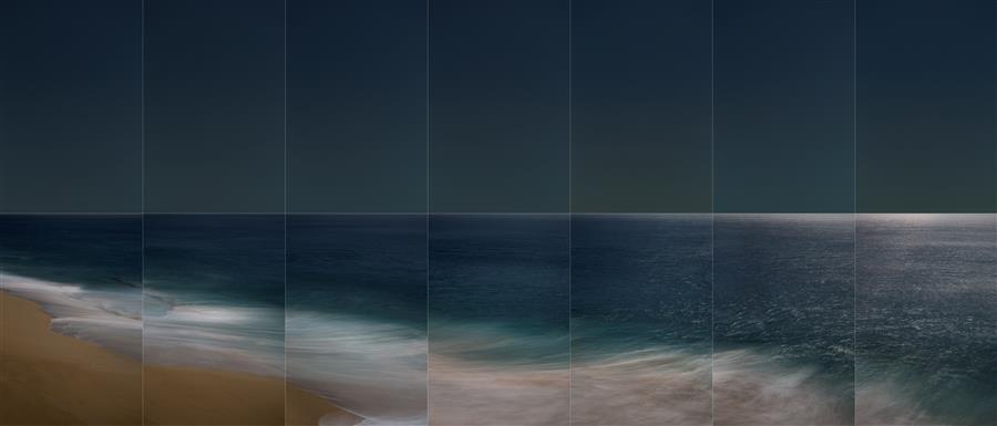 Original art for sale at UGallery.com | La Luna, Moonrise 3 by Martha Ketterer | $25 | photography | 36' h x 17' w | ..\art\photography-La-Luna-Moonrise-3