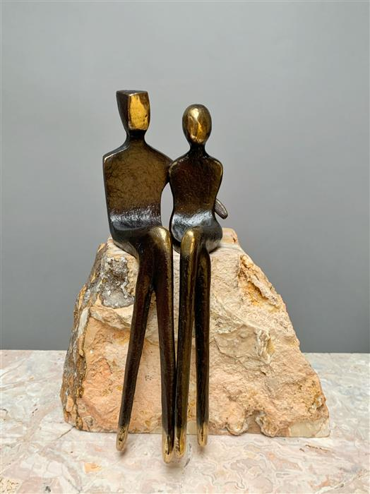 Original art for sale at UGallery.com | Eternal Love by Yenny Cocq | $1,675 | sculpture | 9' h x 7' w | ..\art\sculpture-Eternal-Love