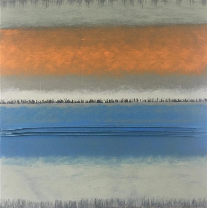 Original art for sale at UGallery.com | Adagio III by David Carter | $2,700 | oil painting | 30' h x 30' w | ..\art\oil-painting-Adagio-III