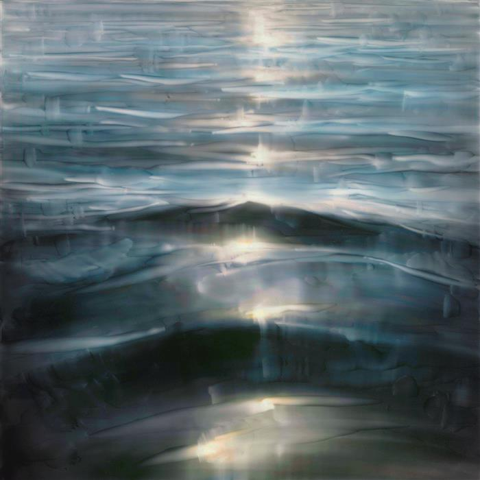 Original art for sale at UGallery.com | Drift Tomorrow by Brian Sostrom | $1,475 | acrylic painting | 20' h x 20' w | ..\art\acrylic-painting-Drift-Tomorrow