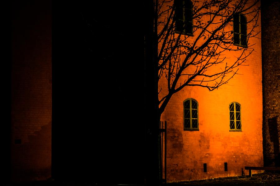 Original art for sale at UGallery.com | Malmo at Night by Alicja Brodowicz | $150 | photography | 15' h x 10' w | ..\art\photography-Malmo-at-Night