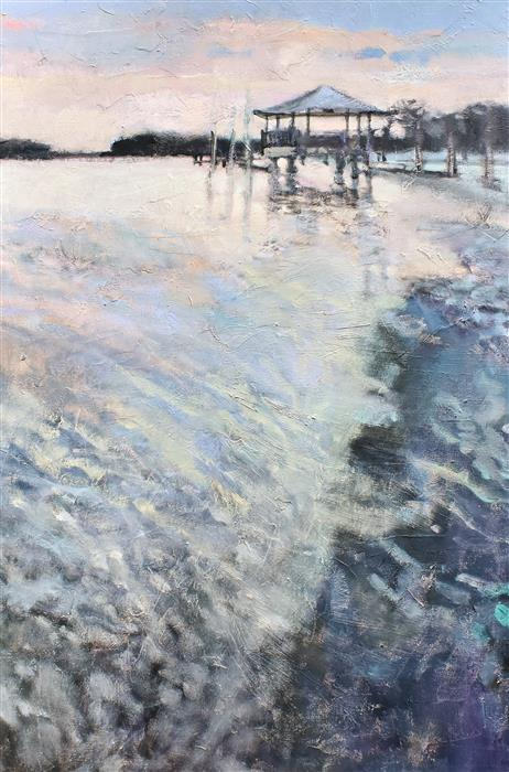 Original art for sale at UGallery.com   Tide by Mary Pratt   $2,000   oil painting   36' h x 24' w   ..\art\oil-painting-Tide-69273