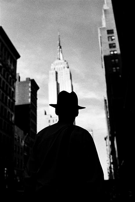 Original art for sale at UGallery.com | 5th Avenue Silhouette by Adam Garelick | $25 | photography | 15' h x 10' w | ..\art\photography-5th-Avenue-Silhouette
