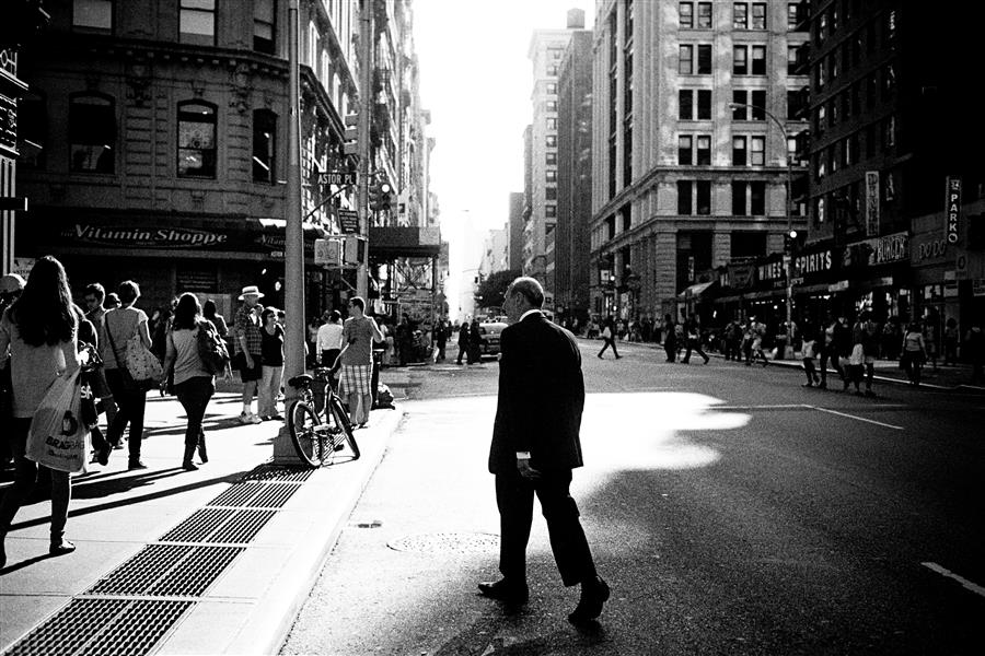 Original art for sale at UGallery.com   Late Afternoon Shadows on Lower Broadway by Adam Garelick   $25   photography   15' h x 10' w   ..\art\photography-Late-Afternoon-Shadows-on-Lower-Broadway