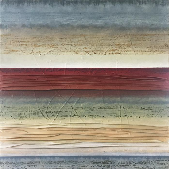 Original art for sale at UGallery.com | Adagio XXI by David Carter | $2,700 | oil painting | 30' h x 30' w | ..\art\oil-painting-Adagio-XXI