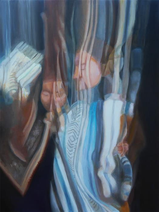 Original art for sale at UGallery.com | Rearrangements by Kristen Brown | $900 | oil painting | 24' h x 18' w | ..\art\oil-painting-Rearrangements