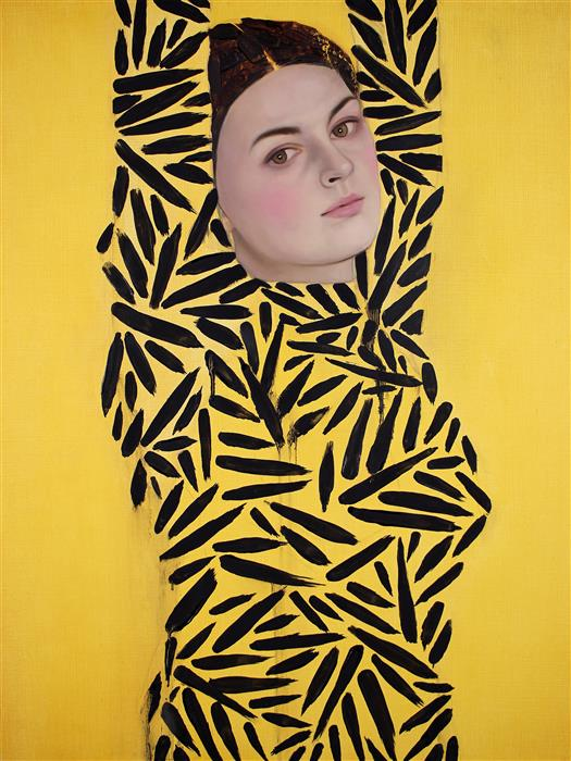 Original art for sale at UGallery.com | Siren III by Ryan Pickart | $3,100 | oil painting | 24' h x 18' w | ..\art\oil-painting-Siren-III