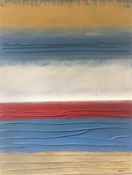 Original art for sale at UGallery.com | Adagio IV by David Carter | $2,875 | oil painting | 40' h x 30' w | ..\art\oil-painting-Adagio-IV-69692