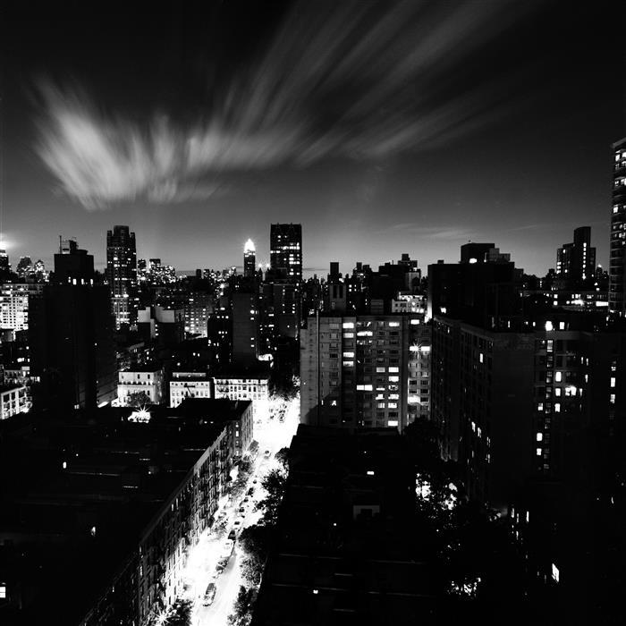 Original art for sale at UGallery.com | Manhattan Sky by Adam Garelick | $25 | photography | 12' h x 12' w | ..\art\photography-Manhattan-Sky