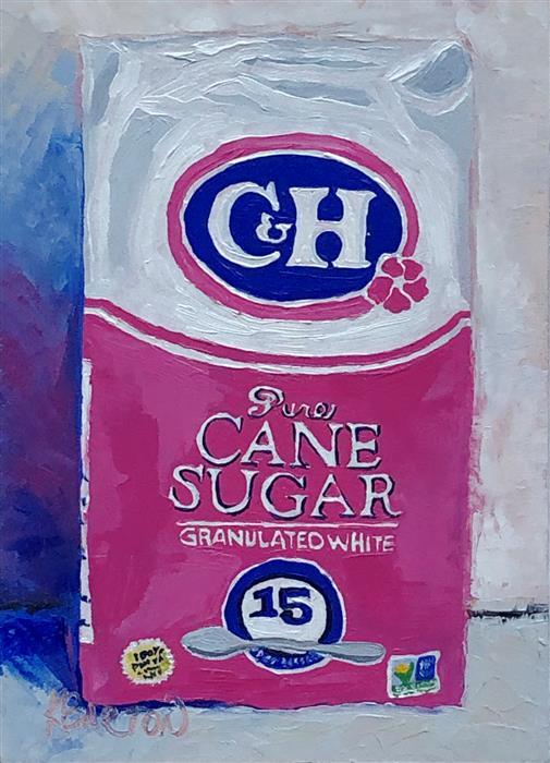 Original art for sale at UGallery.com | Pure Sweetness by Karen Barton | $260 | oil painting | 7' h x 5' w | ..\art\oil-painting-Pure-Sweetness