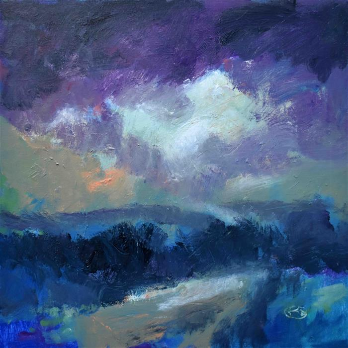 Original art for sale at UGallery.com | A Glimmer of Hope by Kip Decker | $2,200 | acrylic painting | 30' h x 30' w | ..\art\acrylic-painting-A-Glimmer-of-Hope