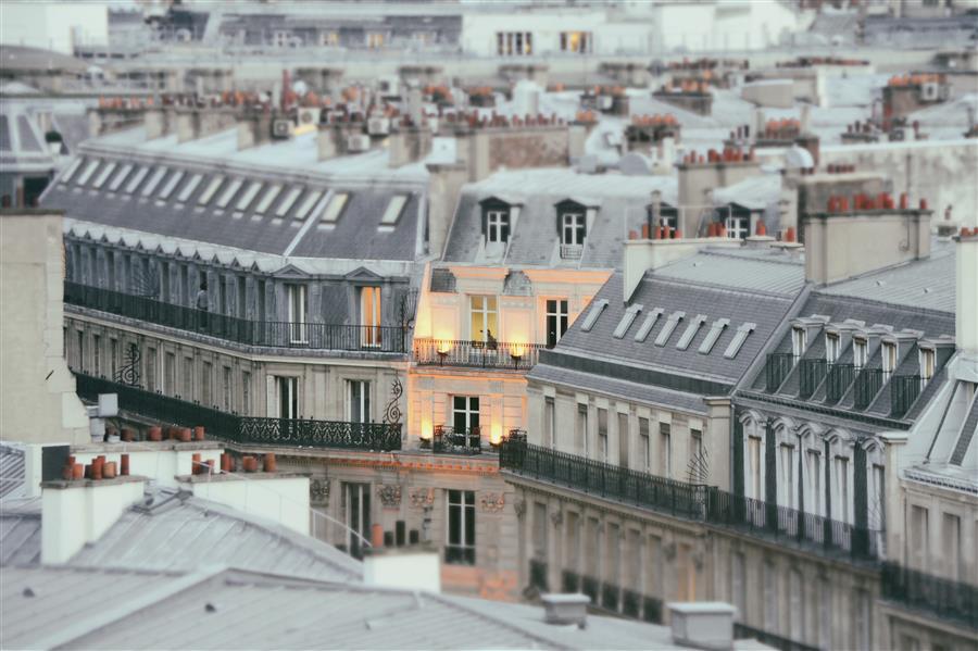 Original art for sale at UGallery.com | Parisian View by Carina Okula | $150 | photography | 15' h x 10' w | ..\art\photography-Parisian-View