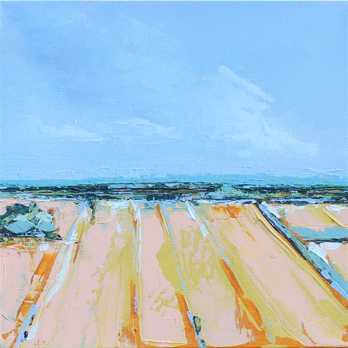 Original art for sale at UGallery.com | Tuscany II, Small by Ruth LaGue | $600 | acrylic painting | 12' h x 12' w | ..\art\acrylic-painting-Tuscany-II-Small