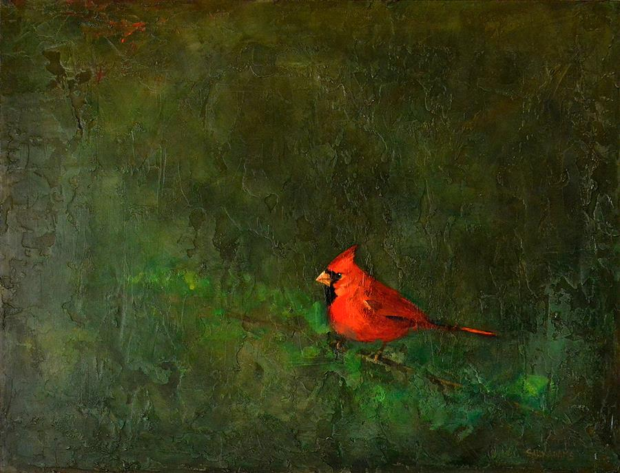 Original art for sale at UGallery.com | Presence by Sally Adams | $1,150 | acrylic painting | 18' h x 24' w | ..\art\acrylic-painting-Presence