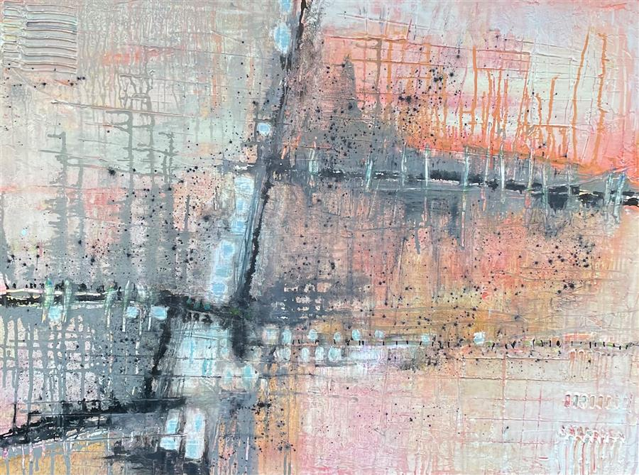 Original art for sale at UGallery.com | The Way Forward by Pat Forbes | $1,775 | acrylic painting | 30' h x 40' w | ..\art\acrylic-painting-The-Way-Forward