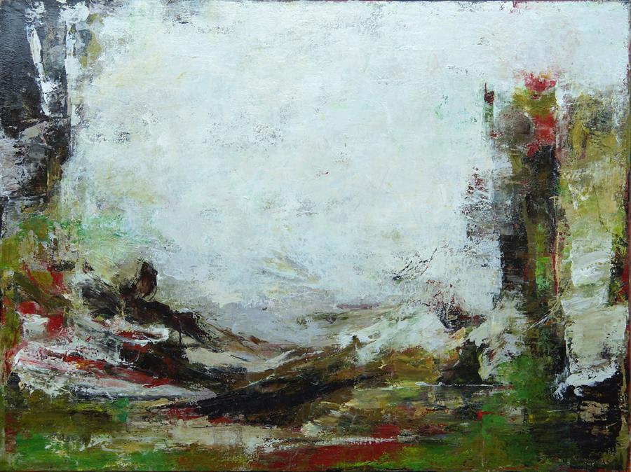 Original art for sale at UGallery.com | She Took Me Back So Tenderly by Lisa Manes-James | $3,500 | oil painting | 36' h x 48' w | ..\art\oil-painting-She-Took-Me-Back-So-Tenderly