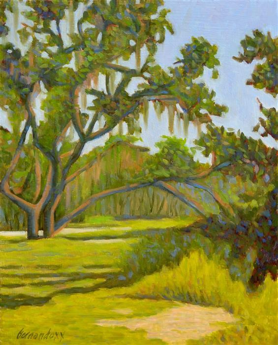 Original art for sale at UGallery.com | Myakka Glory by Fernando Soler | $625 | oil painting | 20' h x 16' w | ..\art\oil-painting-Myakka-Glory